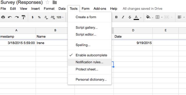 How to Send Email Notifications in Google Forms