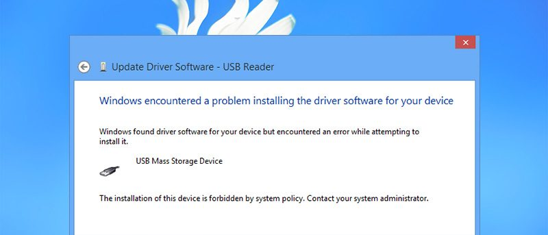 How to Prevent Users From Installing Removable Devices in Windows