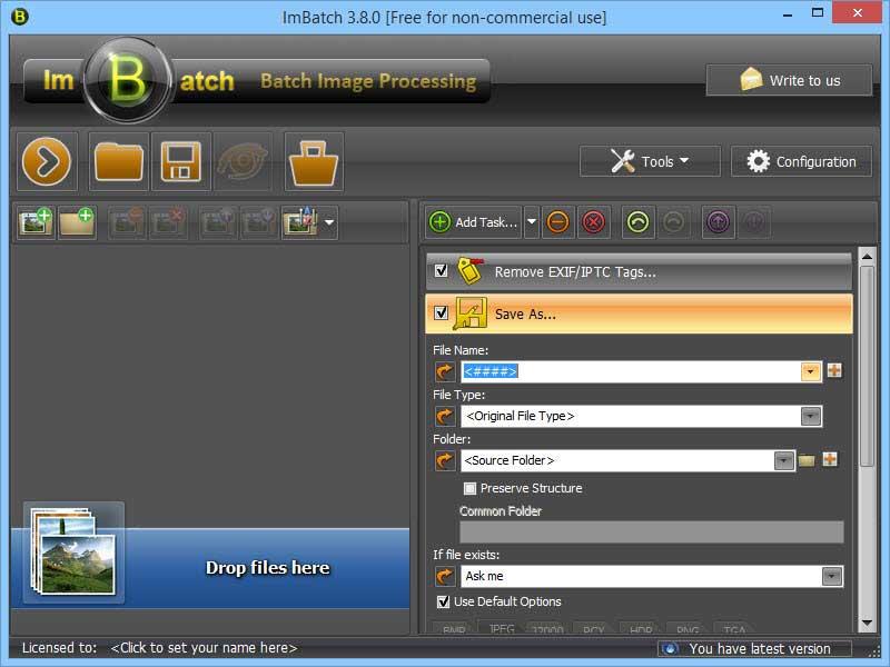 Add batch tasks to ImBatch.