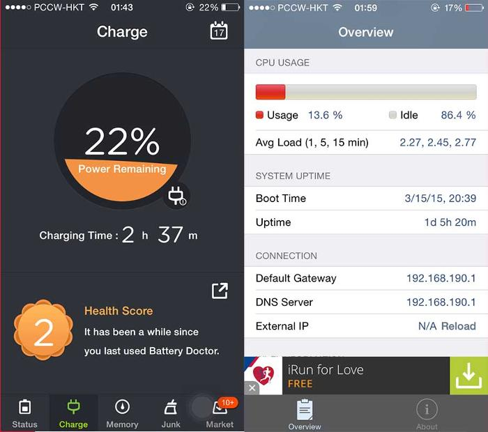 Use Battery Management and Diagnostic Apps