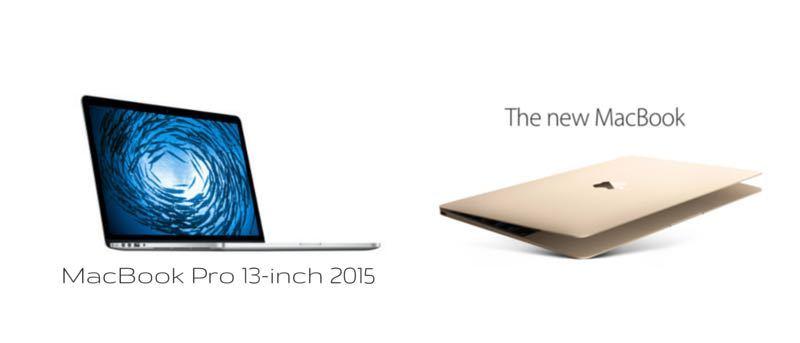 12-inch Macbook Versus 13-inch MacBook Pro (2015)