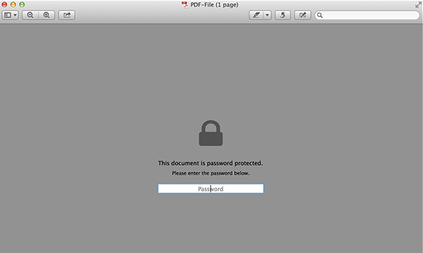How to Remove a Password From a PDF File on Your Mac