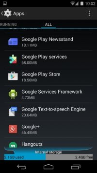 Delete any unnecessary data on your device.