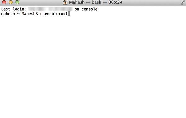 rootuser-enable