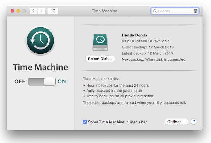 Back up regularly and automate with Time Machine.