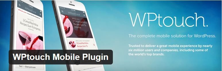 WPTouch Pro WordPress plugin.