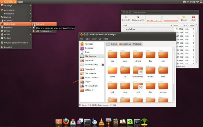 Ambience theme for XFCE4.