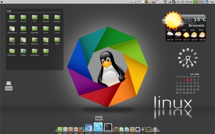 Macbuntu theme for XFCE4.