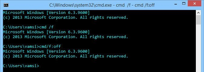 Enable Auto Complete Feature in Windows Command Prompt