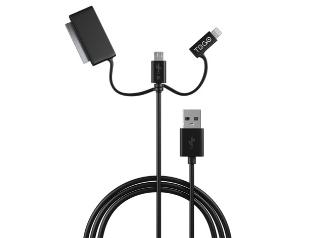 Tego 3-in-1 MFi-Certified Cable
