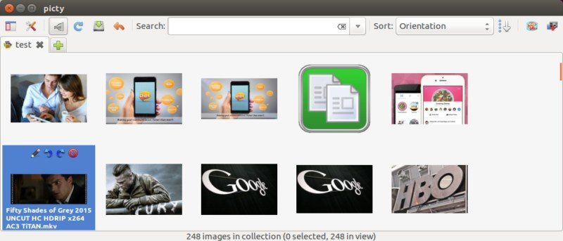 Picty is a Simple and Easy to Use Photo Manager for Ubuntu