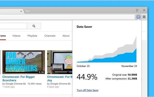 Select 'turn on Data Saver.'