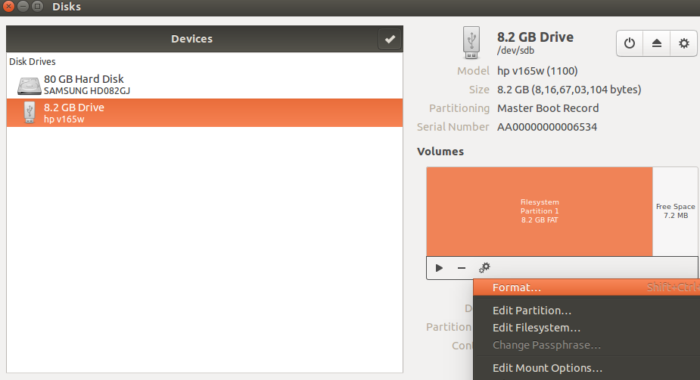 How to Create an Encrypted USB Drive in Ubuntu