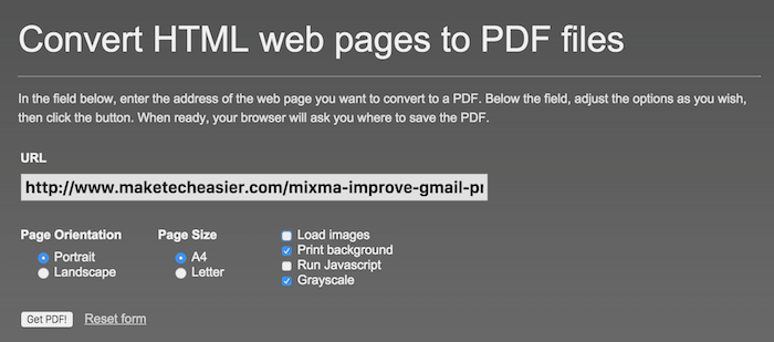 5 Websites To Convert Markdown, HTML & Rich Text to PDF