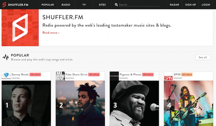 discover-music-Shuffler