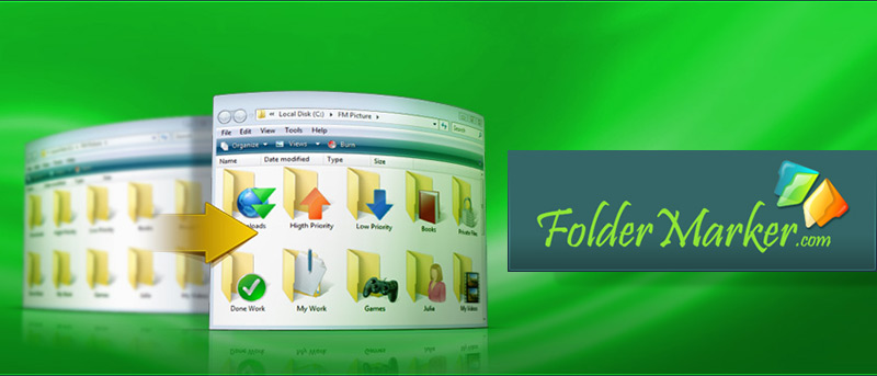 Change Your Windows Folder Icons with FolderMarker: Review and Giveaway
