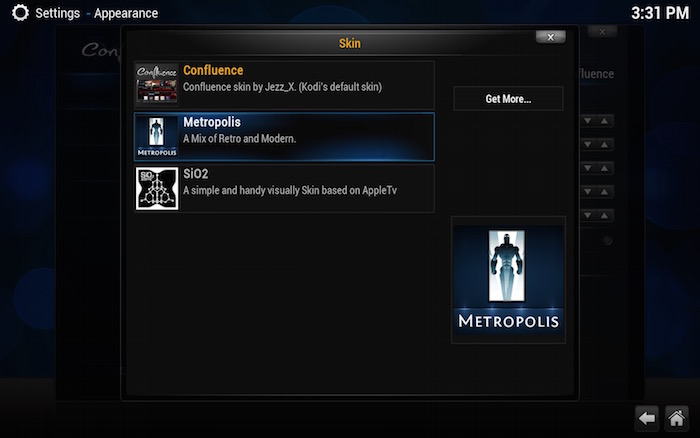 kodi-mac-choose-metropolis-skin