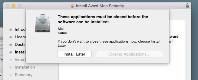 Install Avast Mac Security app.