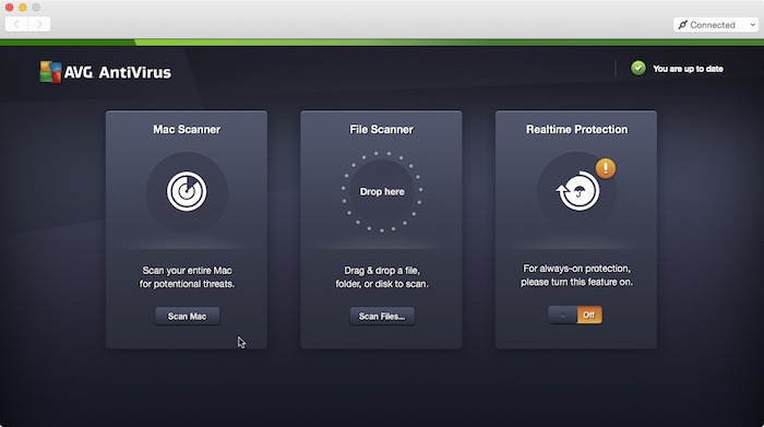 AVG AntiVirus for Mac.