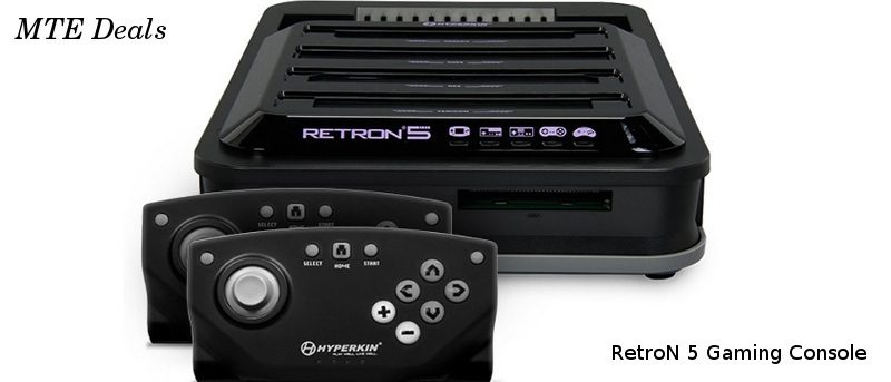 MTE Deals: RetroN 5 Gaming Console With Two Wireless Controllers