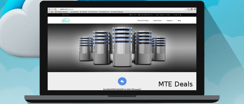 MTE Deals: Dripbit Online Backup Lifetime Subscription