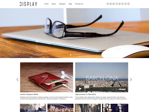 95+ & Counting Modern, Responsive Themes w/ Featured Themes Added Monthly