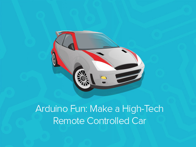 Arduino 'Make a Remote-Controlled Car' Course