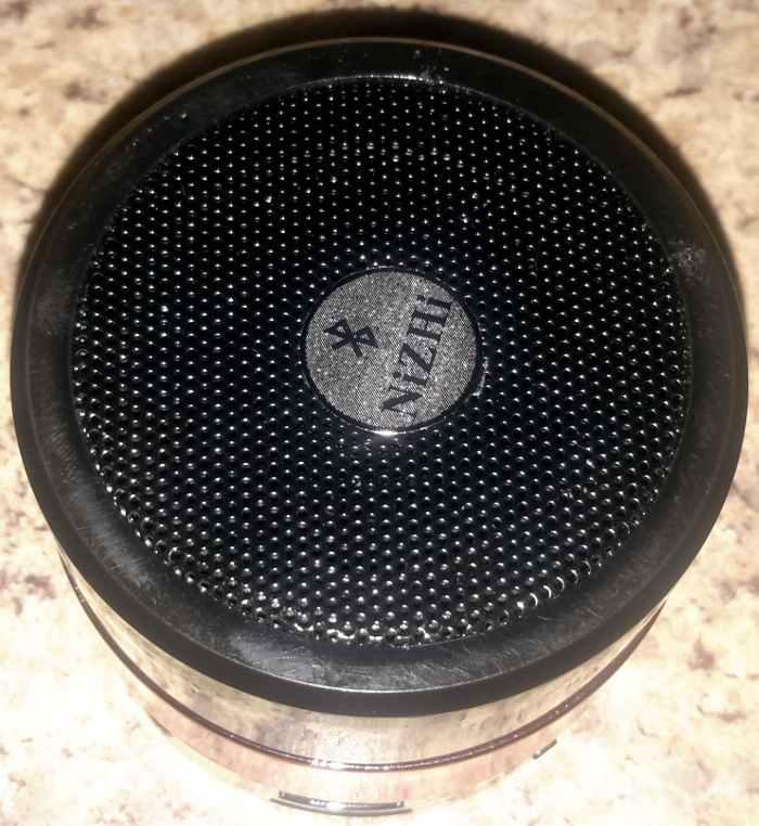 Top view of Nizhi MINI speaker.