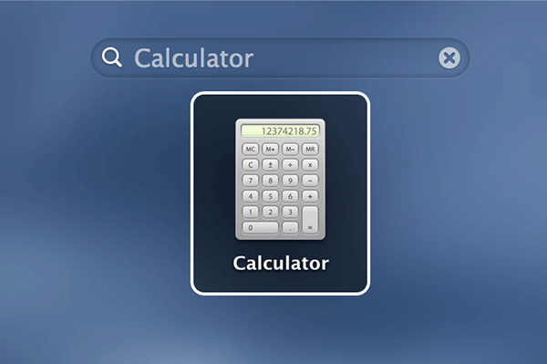 Open the Calculator app on your Mac.