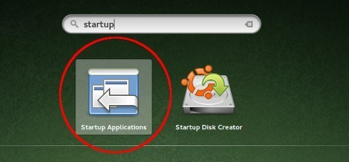 Adding startup application.