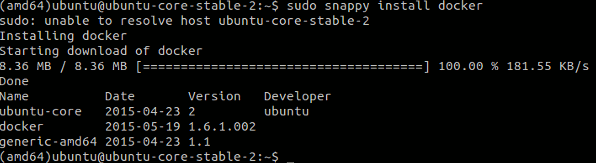 Install frameworks and applications in Ubuntu Snappy Core.