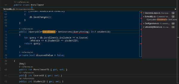 Peek editor for VS Code.