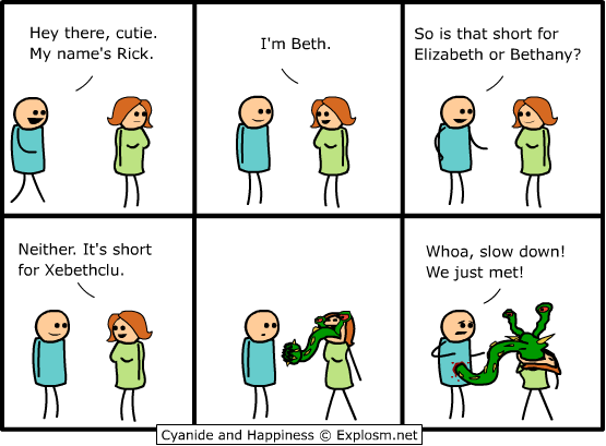 Cyanide and Happiness webcomic