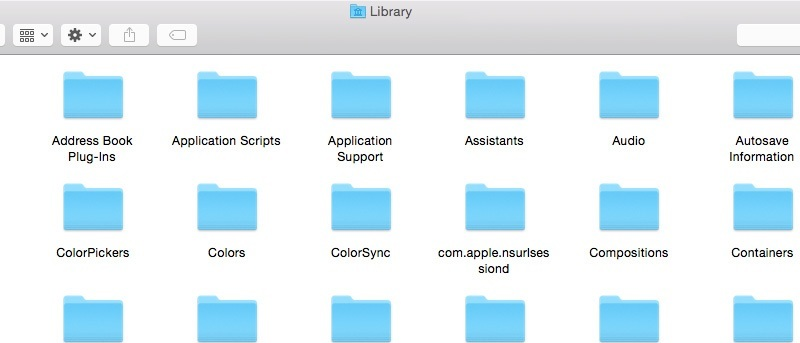 """How to View and Access the """"Library"""" Folder in OS X"""