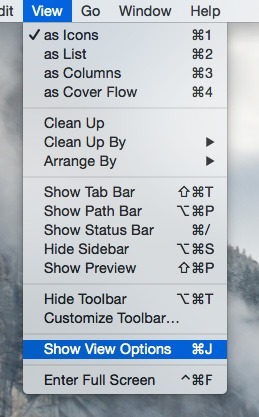 Library-OSX-Show-View-Options