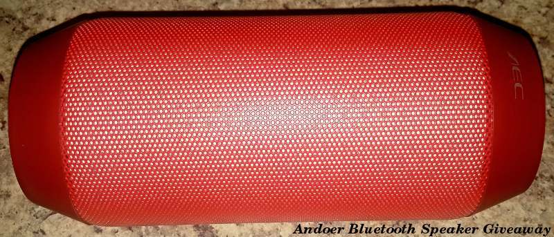 Andoer Multifunctional Bluetooth Speaker with Flashing LEDs – Review and Giveaway