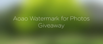 Aoao Watermark for Photos: Watermark Your Photos Quickly and Easily