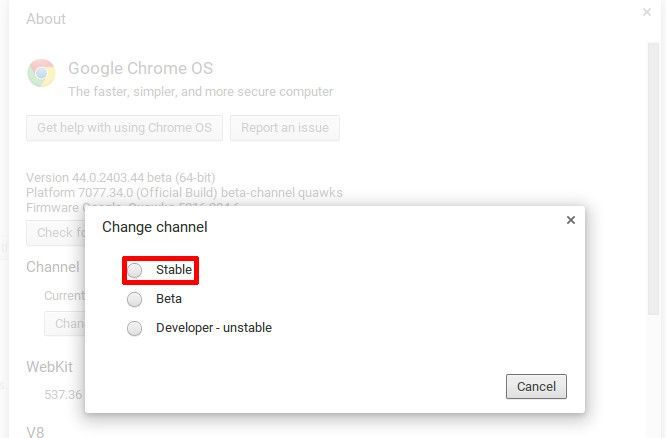 chrome-os-software-channels-change-back-from-beta-channel-to-stable-channel