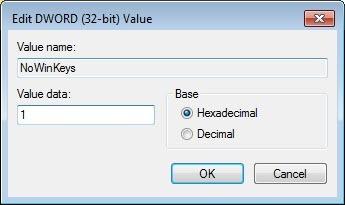 disable-win-l-shortcut-NoWinKeys-value-data