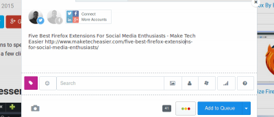 Five Best Firefox Extensions for Social Media Enthusiasts
