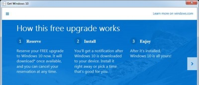 How to Remove the Get Windows 10 Icon in Windows