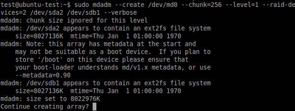 linux-raid-confirmation