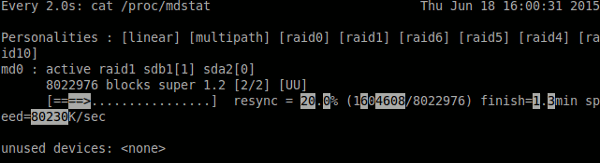 linux-raid-progress