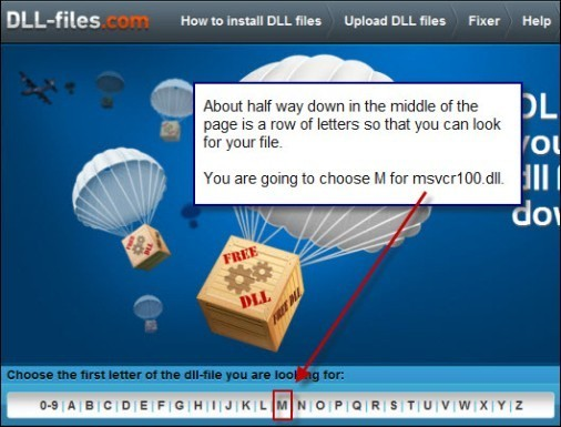 msvcr100dll-choose-file-dllfilesite