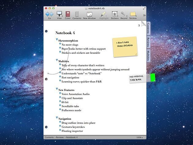 NoteBook 4 - Powerful and versatile note-taking.