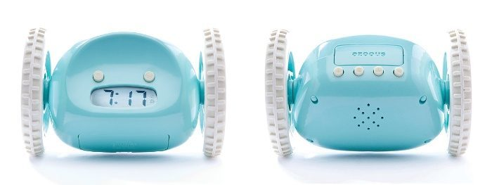 Beat Your Snooze Addiction with the Alarm That Runs Away!