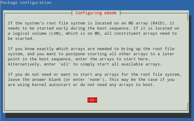 setup-RAID1-array
