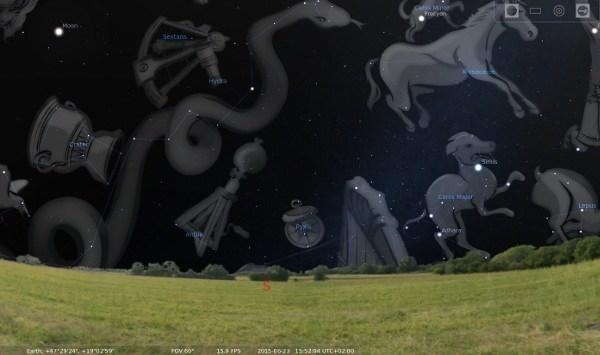 stellarium-constellations-on