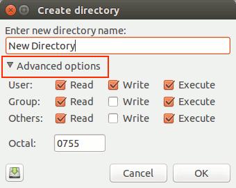 sunflower-create-directory