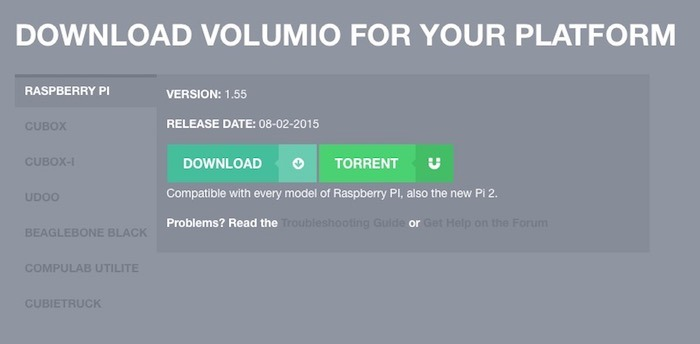 volumio-download-app